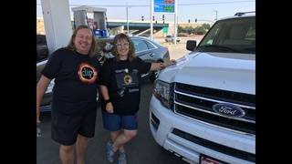 German couple comes to Wyoming for 12th total eclipse