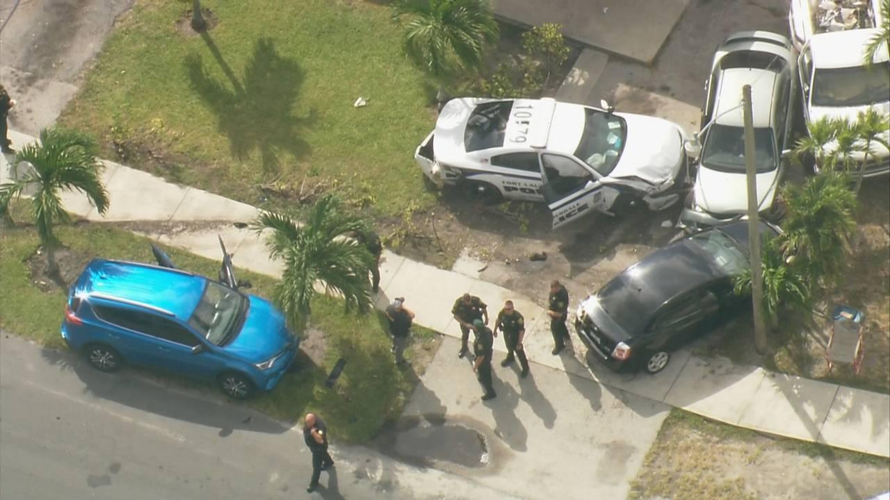 Sky 10 Fort Lauderdale police-involved crash in Pompano Beach_1570028590198.jpg.jpg