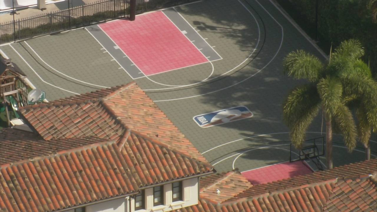 Scottie Pippen basketball court