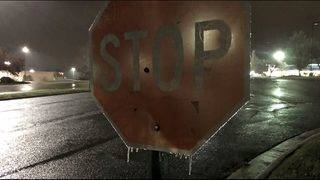 Icy conditions a concern for morning commute