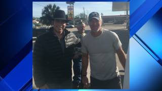Legendary NFL quarterback Brett Favre spotted in small South Texas town
