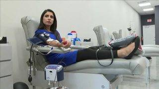 Local 10 News reporter donates blood to help 2-year-old Miami girl