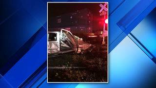 Man ejected from pickup truck that was struck by train in Deerfield Beach