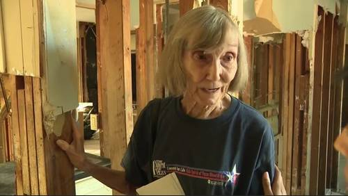 A year after Harvey, woman recounts leaving her home of 42 years