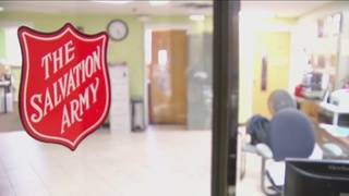 Salvation Army to open cold night shelters Sunday, Monday