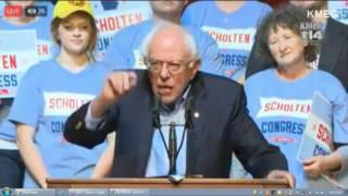Sen. Bernie Sanders campaigns in Sioux City, Iowa