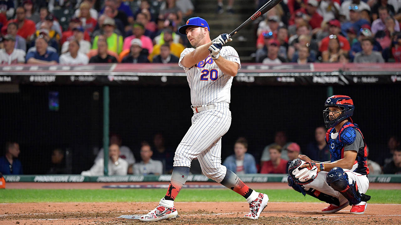 Pete Alonso 2019 hr derby getty