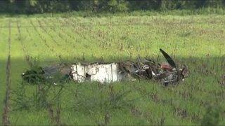 Witness: 'I looked out the window and saw a plane coming down to the ground'