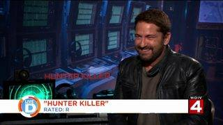 See actor Gerard Butler's shout out to Detroit on Live in the D