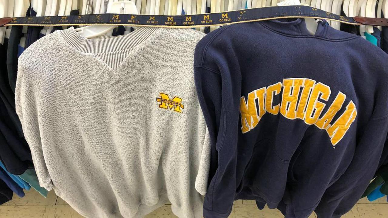 Michigan Vintage clothing