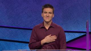 James Holzhauer wins by a whisker, continuing his 'Jeopardy!'