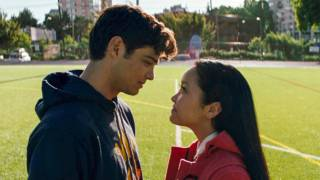 Noah Centineo Thanks Lana Condor for Her 'Lips' While…