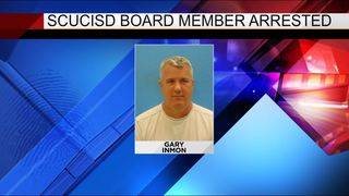 SCUCISD board member arrested, posts bond on felony charges