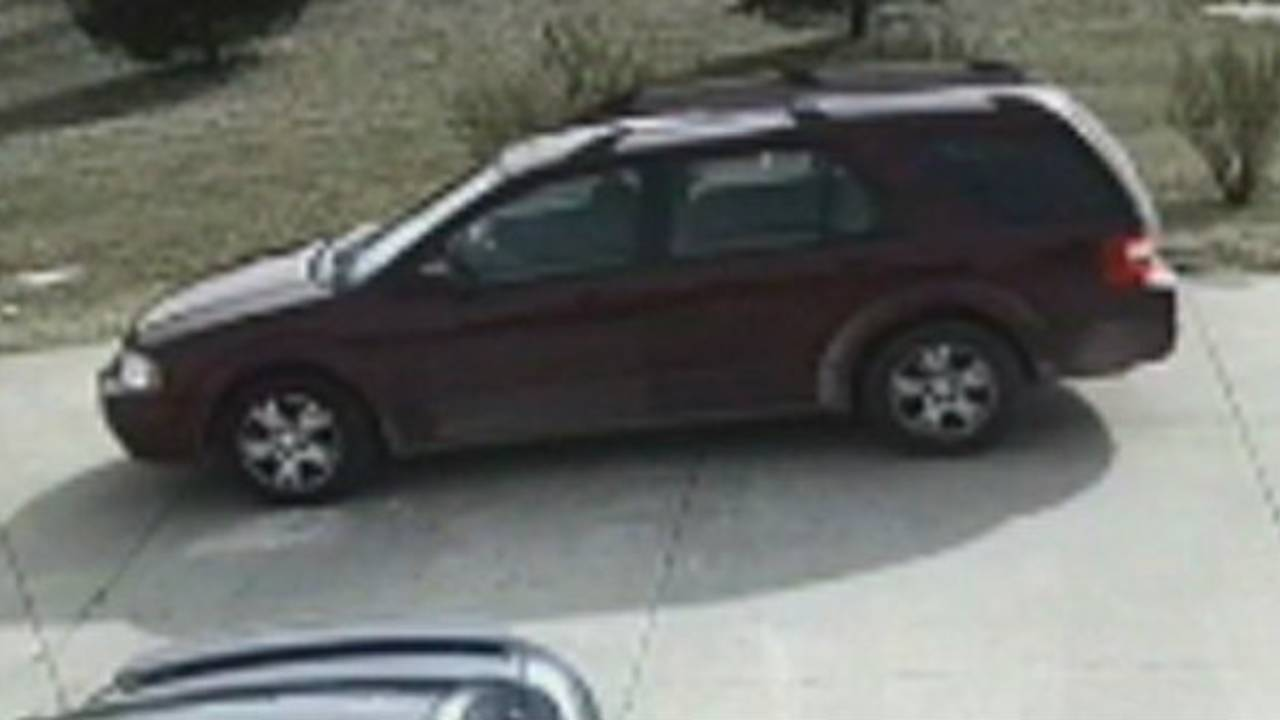 Washtenaw County home invasion suspect vehicle
