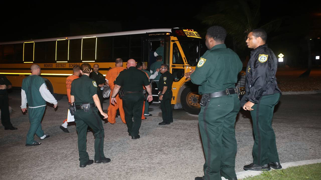Inmates moved from Florida Keys jail alternate angle