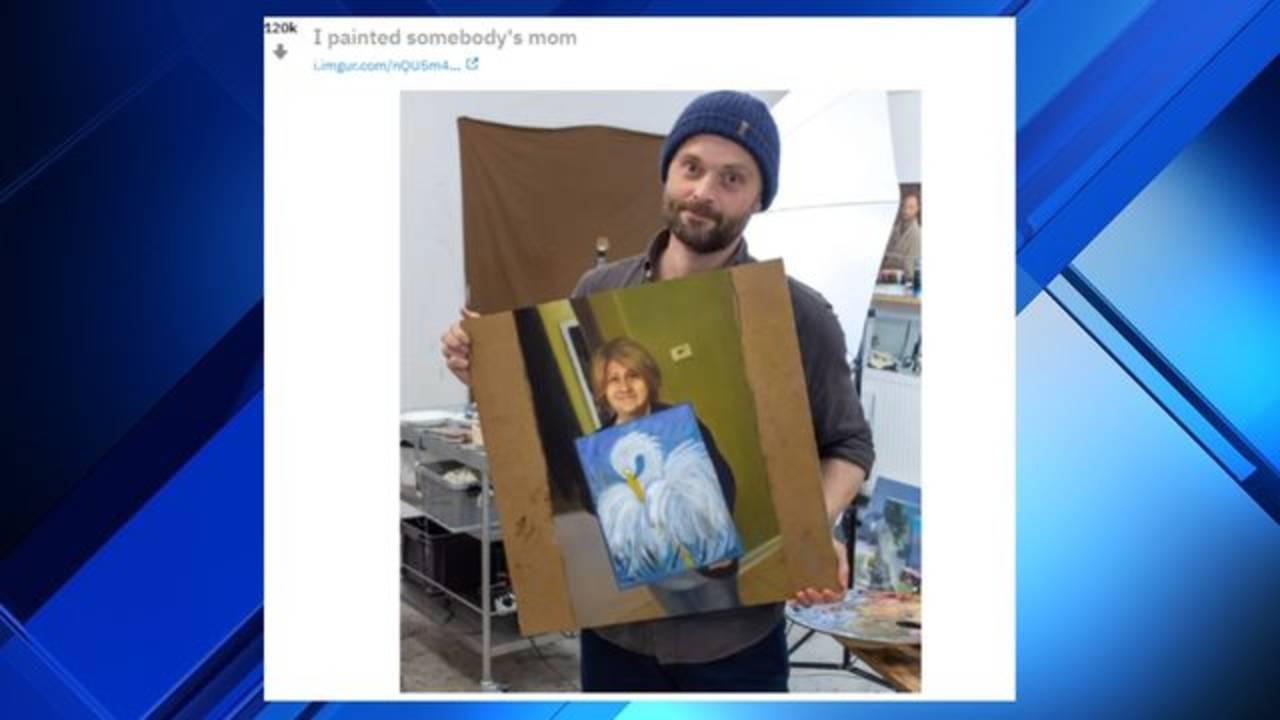 Jacksonville Mom S Art Class Painting Fuels Viral Sensation