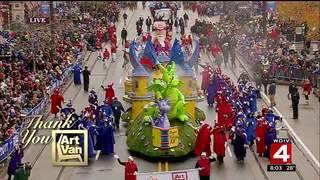 Art Van's Parade Presence