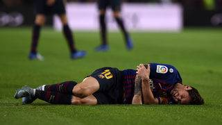 Lionel Messi to miss El Clasico after fracturing right arm