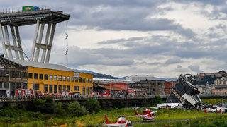 State funeral held for Genoa bridge collapse victims