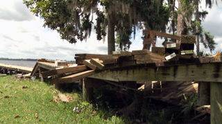 I-TEAM: Homeowners find trouble while getting Irma-damaged docks repaired