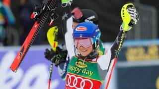 Skiing World Cup: Shiffrin takes aim at record books with win at Maribor