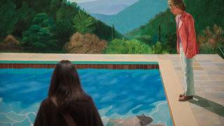 David Hockney painting poised to smash auction records