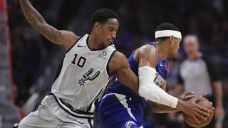 Spurs lose third in a row, fall to Clippers