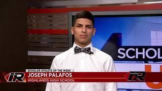 Scholar Athlete: Joseph Palafos, Highlands High School