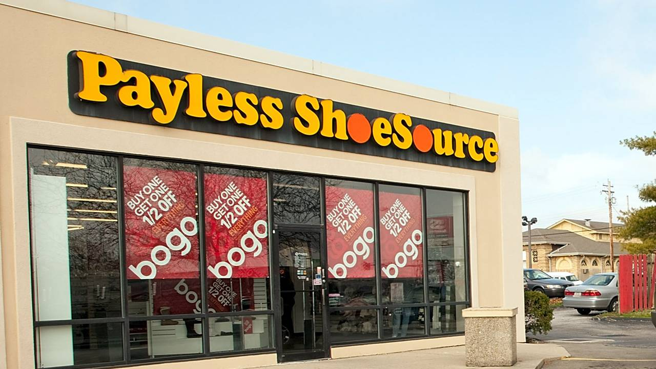 18c9f76e2f5 Payless liquidation sales begin as company prepares to close...
