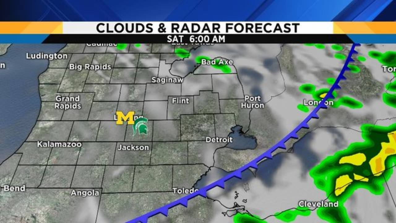 Michigan Michigan State Weather Forecast Dry For Tailgating