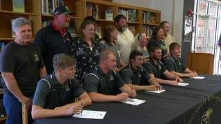 Staunton River football sends 5 to college ranks