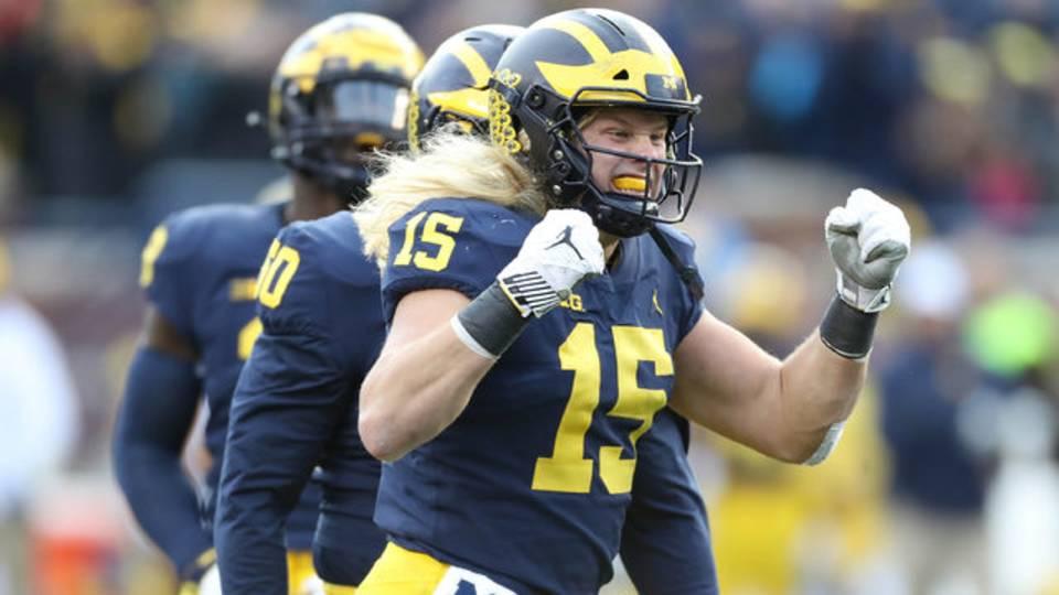 Chase Winovich Michigan football vs Penn State 2018