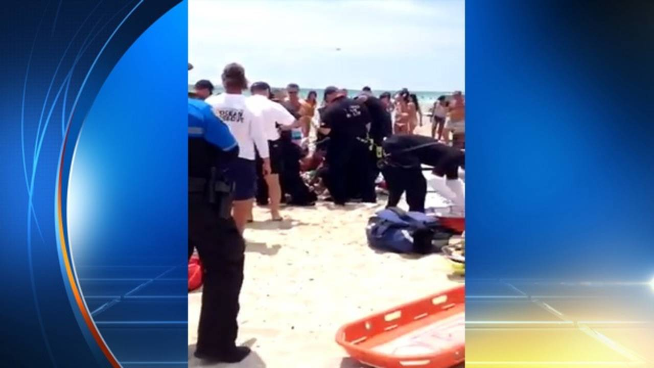 Man taken to Mount Sinai after near-drowning on Miami Beach