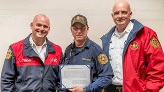 Lt. Henry Carrow named 2018 JFRD 'Firefighter of the Year'