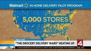 Watch: Grocery delivery wars heating up