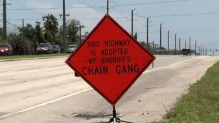 Brevard sheriff putting inmates to work on all-volunteer 'chain gang'