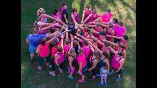 """Joining one woman's fight against breast cancer, """"Booby Bootcamp"""" kicks&hellip&#x3b;"""