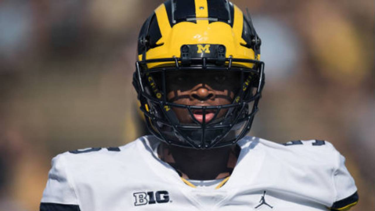 Aubrey Solomon Michigan football vs Purdue 2017