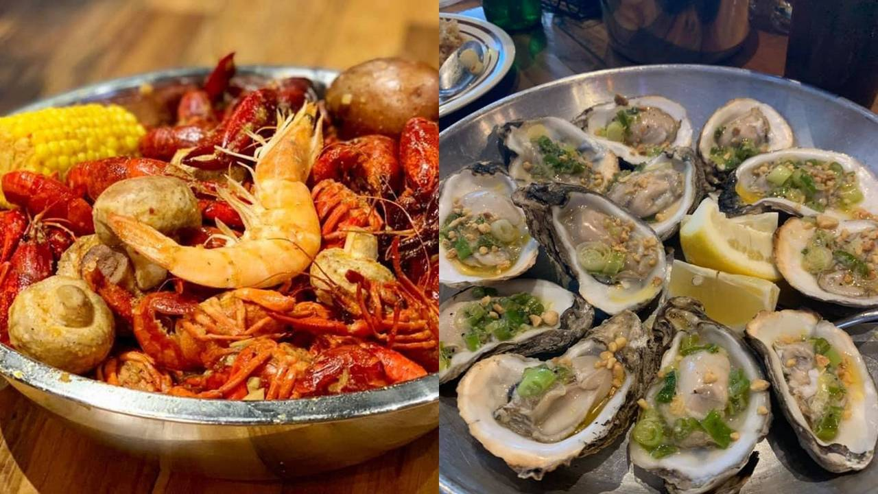 Yummy Crawfish and Seafood