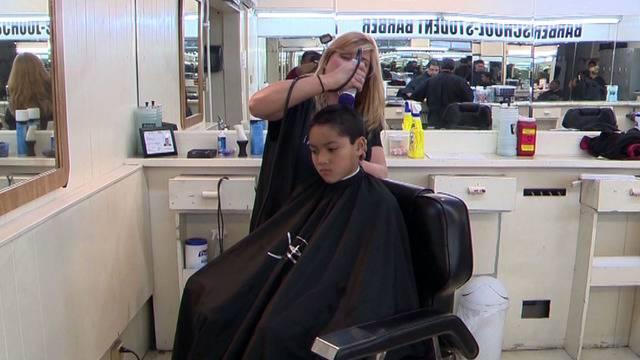 Fraternity Sponsoring Free Haircuts At Sa Barbershop