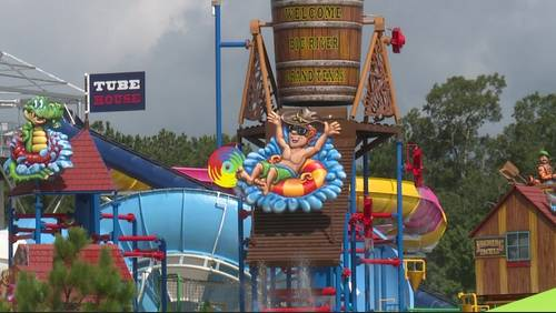 Take a look inside Houston-area's newest water (soon-to-be amusement) park
