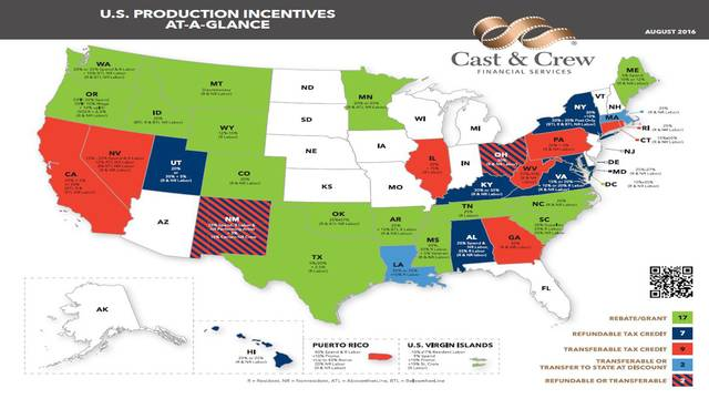 US Production Incentives At-A-Glance