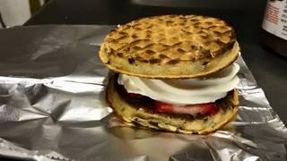 The Custard Hut in Dearborn Heights packs custard between waffles for&hellip&#x3b;