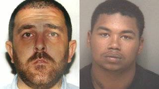 2 men who allegedly stole items from storm victims arrested, officials say
