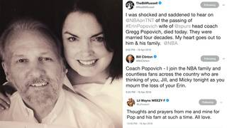 'Praying for Coach Pop': NBA legends, celebrities, athletes honor&hellip&#x3b;