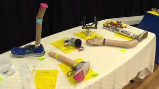 Princeton Elementary students design, build robotic arms and legs during&hellip&#x3b;