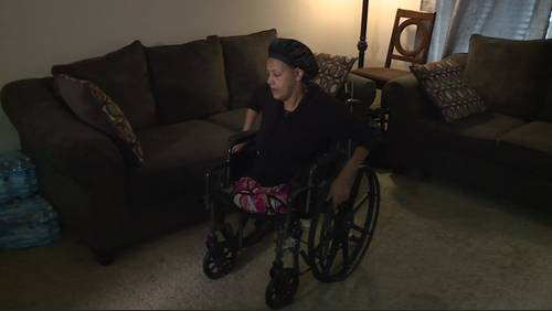 Amputee who's struggled in wake of Hurricane Harvey surprised with new, free power wheelchair