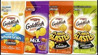 4 flavors of Goldfish crackers recalled due to salmonella concern