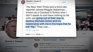 President Trump accuses New York Times of trying to turn Michael Cohen&hellip&#x3b;