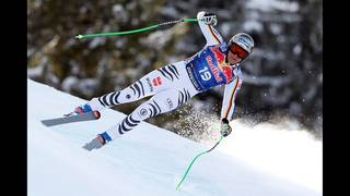 German skier pulls off surprise win in classic Kitzbuhel downhill